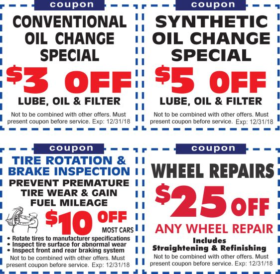 Coupons Print Save At S S Repair Center